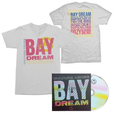 Culture Abuse - Bay Dream CD + Bay Dream Tee (White) Bundle