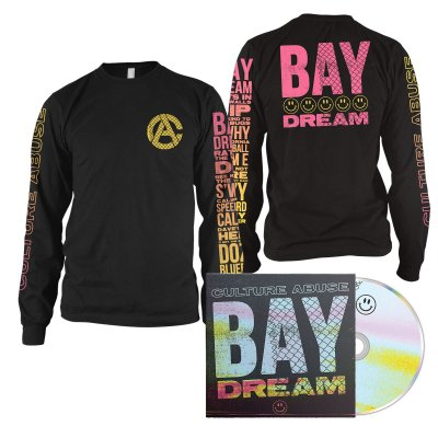 Culture Abuse - Bay Dream CD + Smile Long Sleeve (Black) Bundle