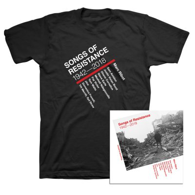 Marc Ribot - Songs of Resistance 1942-2018 CD + Tee (Black) Bundle