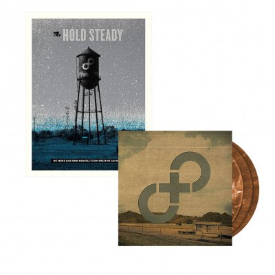 The Hold Steady - Stay Positive 3xLP (Brown) + Poster Bundle