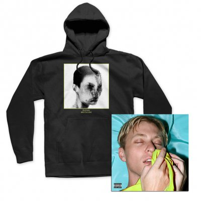 the-drums - Brutalism CD + Hoodie (Black) Bundle