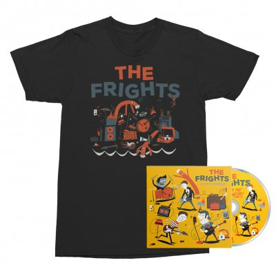 The Frights - Live at The Observatory CD + Tee (Black) Bundle
