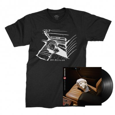 bad-religion - Age of Unreason LP (Black) + Car Seat Tee (Black) Bundle