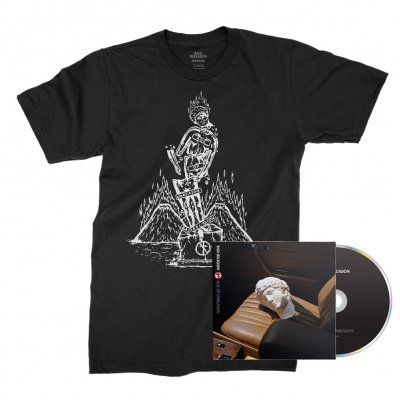 Bad Religion - Age of Unreason CD + Statue Tee (Black) Bundle