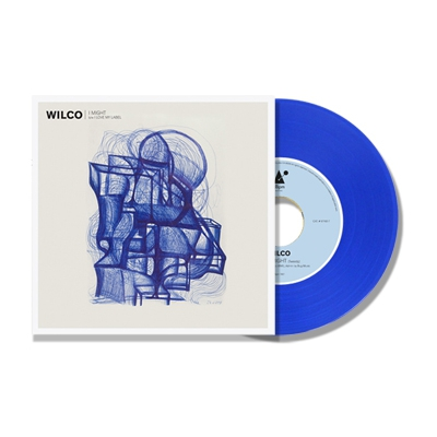 "Wilco - I Might 7"" b/w I Love My Label - Blue Vinyl"