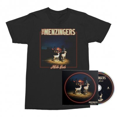 The Menzingers - Hello Exile CD + Cover Tee (Black) Bundle