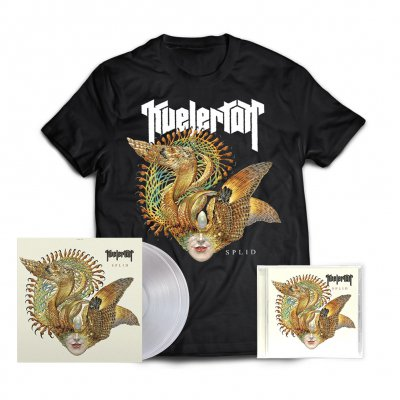 kvelertak - Splid 2xLP (Clear) + CD + Album Tee (Black) Bundle