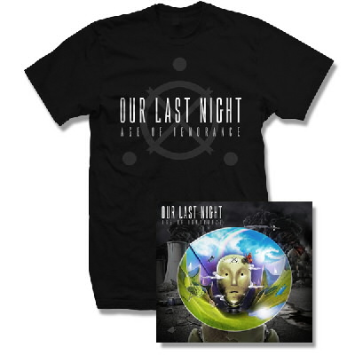 Our Last Night - Age Of Ignorance CD & Logo Shirt